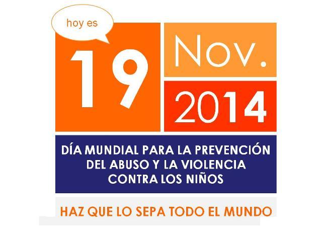 19nov Prevención violencia niños